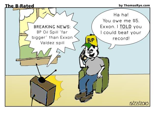 BP is breaking records... not good ones