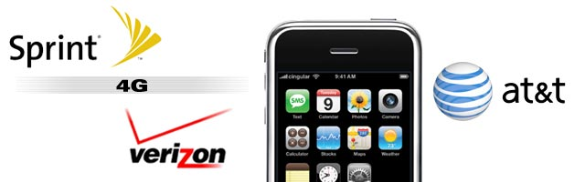 iPhone being killed by AT&T, will they switch to Sprint or Verizon