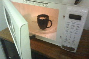 Microwave for 45 seconds