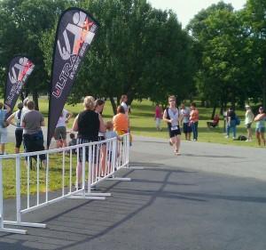 Topeka Tinman 2011 Finish Line
