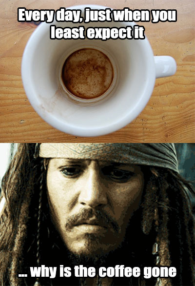 Coffee Jack Sparrow